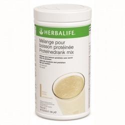 Mélange pour boisson protéinée Herbalife : 1 produit, 2 utilisations