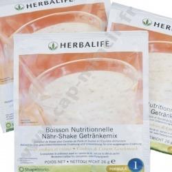 7 sachets Boisson prise de poids Formula 1 Herbalife Cookies & Cream pour une nutrition équilibrée