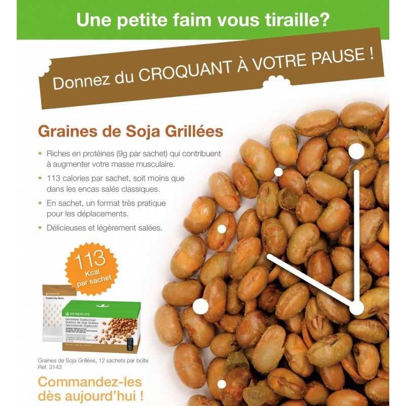 Graines de soja grill es herbalife membre ind pendant herbalife - Graines de potimarron grillees ...