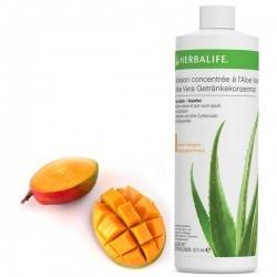 Boisson concentrée à l'Aloe Vera, saveur Mangue ou Classique Herbalife