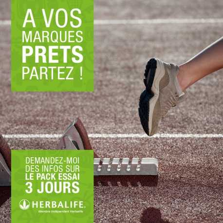Pack découverte sport Herbalife 6 jours vanille