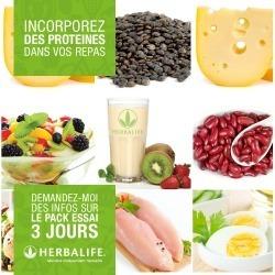 Pack Découverte Minceur Herbalife 3 à 6 jours. Trial Pack