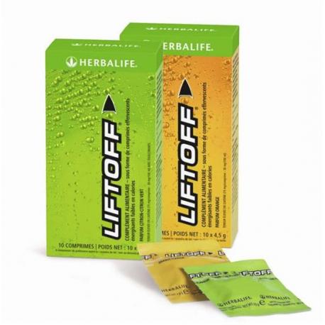 Liftoff - Boisson énergisante faible en calories