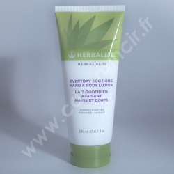 Lait quotidien apaisant mains et corps Herbal Aloe - Herbalife