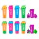 Shaker fluo Herbalife (5 coloris disponibles). Personnalisez votre shaker