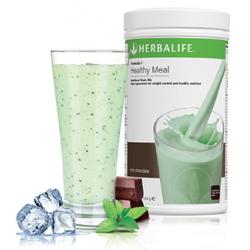 Bebida adelgazar Formula 1 Herbalife chocolate y menta