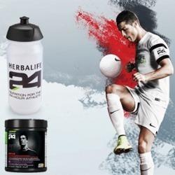 Pack CR7 Cristiano Ronaldo Herbalife boisson et gourde