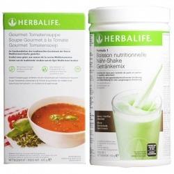 Pack Herbalife bebida Formula 1 + aterciopelado gastrónomo al tomate