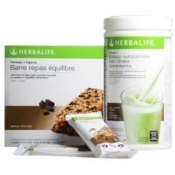 Pack Dúo F1 + 7 barritas comida Herbalife