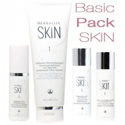 Beauty Pack Basic Skin Herbalife - 4 cosmétiques