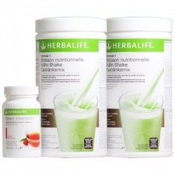 Pack Fit & Forma. 2 bebidas Formula 1 Herbalife + 1 té Thermojetics
