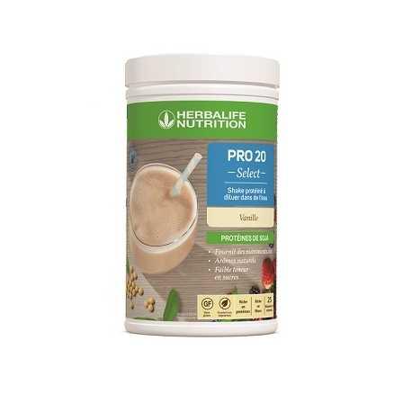 Boisson protéinée Herbalife Pro 20 Select vanille