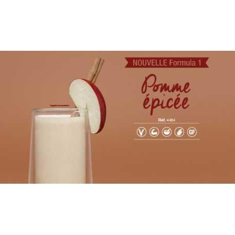 Profitez d'une nutrition équilibrée avec le repas prise de poids F1 Herbalife pomme épicée