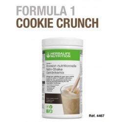 Prendre du poids avec les boissons protéines Herbalife F1 Cookie & Crunch vegan sans gluten