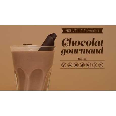 Boisson minceur Formula 1 Herbalife au chocolat gourmand vegan sans gluten