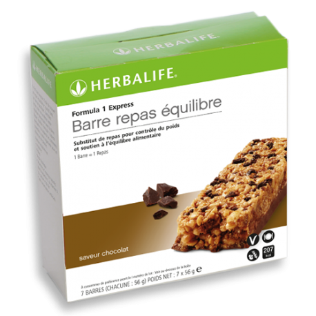 Barres repas Formula 1 Express Chocolat / Baies rouges et yaourt