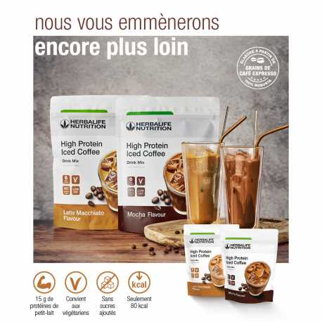 Café frappé protéiné Herbalife - High Protein Iced coffee