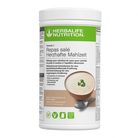 Formula 1 velouté aux champignons Herbalife nutrition