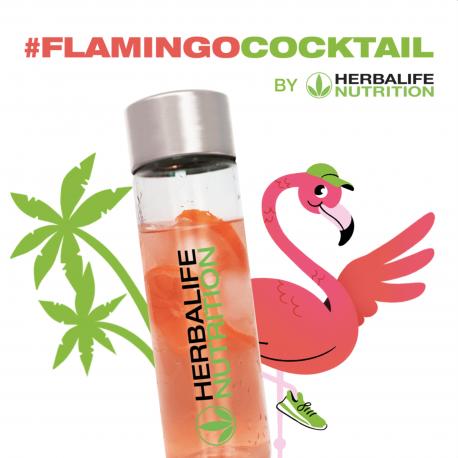 Pack boisson Cocktail de l'été Flamingo original Aloé Herbalife