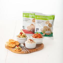 Chips Protéinées Herbalife. 10 sachets de 30g. 2 saveurs au choix