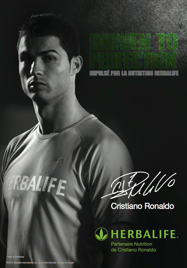 Cristiano Ronaldo. Pack Boisson CR7 Drive + Gourde Herbalife