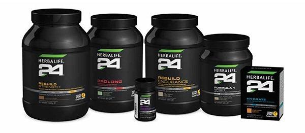 Gamme développée pour les sportifs : Herbalife 24