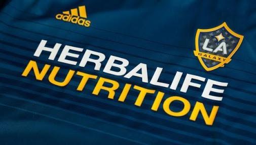 Herbalife Nutrition LA Galaxy jersey MLS