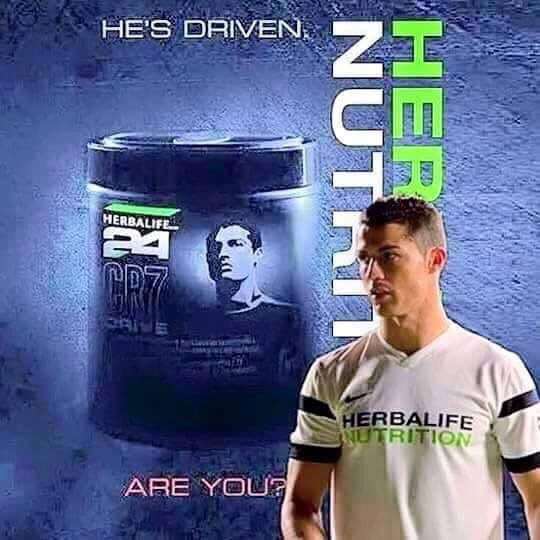 Cristiano Ronaldo CR7 Drive Herbalife 24