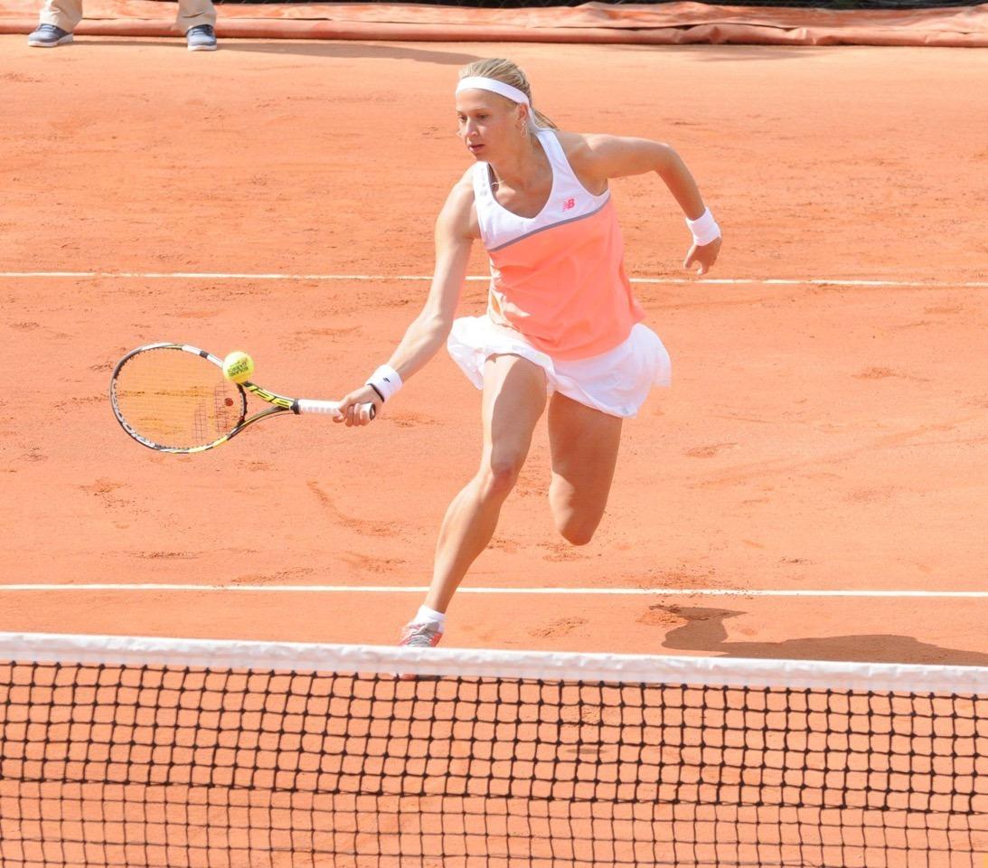 Myrtille Georges, joueuse de tennis professionnelle utilise les produits Herbalife sport