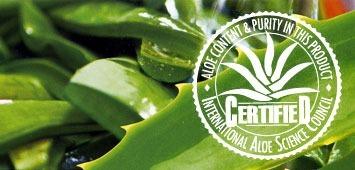 Aloe vera Herbalife Max garantie par le label IASC