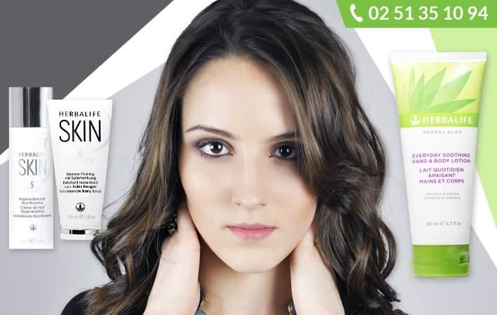 Découvrez nos soins cosmétiques Herbalife >>>