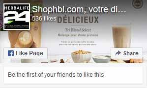 Shophbl.com, votre distributeur Herbalife